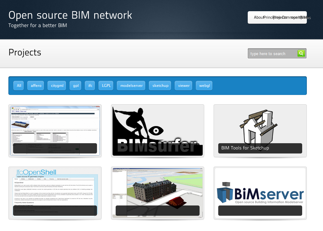 NOTICIAS: Iniciativas BIM libres/ Open source BIM initiatives